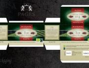 Packging pour boites de thés Pagès