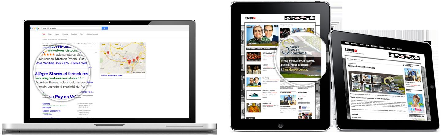 Velay Communication Référencement sur google en Haute-Loire