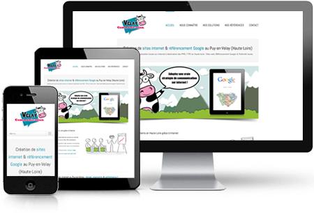 création de site internet au Puy-en-Velay, Web Responsive Design