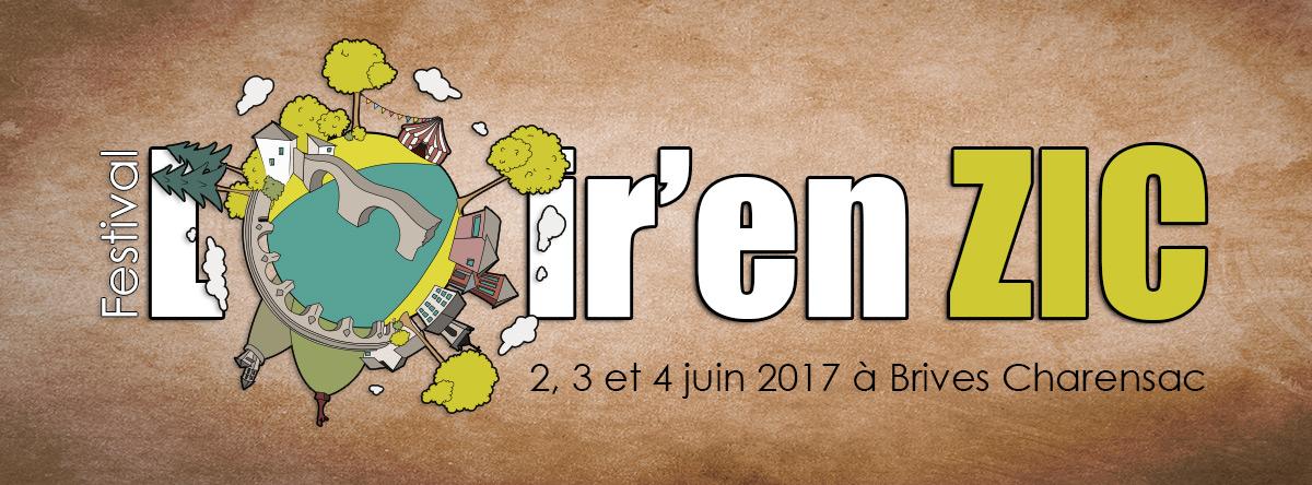 Porposition d'une identité visuelle pour le festival Loiren'zic de Brives-Charensac